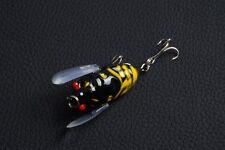 1pcs Cicada Mepps Fishing tackle 4cm/6.5g peche Wobbler Lure Crank baits bass