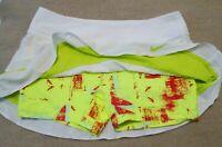 Nike Women's White Tennis Skirt Maria Premiere Size Small Court Dri Fit Skort