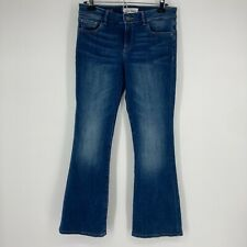 DL1961 Womens Jeans The Abbey Petite Boot Dark Wash Blue Denim Size 28