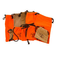 HERMES Dust Bag 10 Set Brown Orange For Accessories Authentic T04793