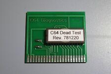 Dead Test cartridge for the Commodore 64, Rev. 781220, Repair Diagnostics, NEW.