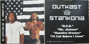 OUTKAST 2000 Stankonia 2 Sided promotional poster/flat Flawless New Old Stock
