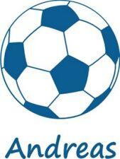 Fussball m. Wunsch-Namen,Wandtattoo od. Auto-Aufkleber
