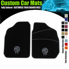 MG TF (2002 to 2005) CAR MAT SET + MG TF LOGO + FULL WIDTH HEELPAD