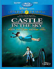 Castle in the Sky Studio Ghibli (Two-Disc Blu-ray/DVD Combo) NEW Free Shipping