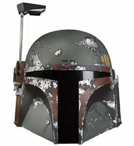 Star Wars The Black Series Boba Fett Premium Electronic Helmet New In Stock Mint