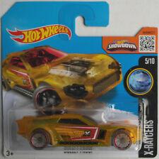 """Hot Wheels-Bullet Proof jaune """"X-Racers"""" Nouveau/Neuf dans sa boîte"""
