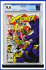 X-Force #14 CGC Graded 9.4 Marvel September 1992 White Pages Comic Book