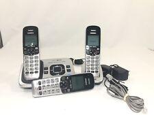 Uniden Cordless Phone Handset Answering Machine Base 2 Headsets & 1 Base D1780