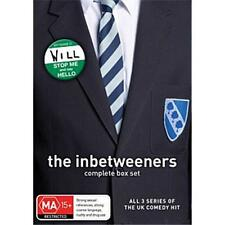 "THE INBETWEENERS 1-3 COMPLETE SERIES COLLECTION 3 DISCS DVD BOX SET R4 AUS ""NEW"""
