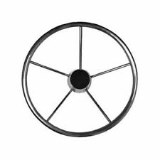 """Boat Marine Non-Magnetic Type Stainless Steel Destroyer Steering Wheel 15"""""""