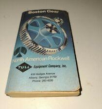Vintage Boston Gear Standardized Power Transmission Catalog