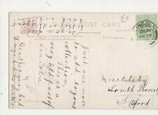 Miss Ailsby Louth Thoresby Nr Alford 1909 327a