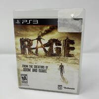 Rage Sony PlayStation 3 PS3 Game Complete With Manual Tested