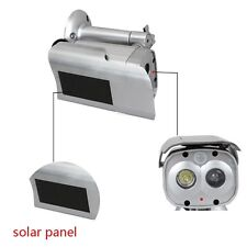 Motion Detection Bullet Camera Security Dummy Solar Powered w/ Flashing LED
