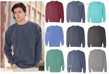 Comfort Colors - Garment Soft washed Dyed Ringspun Crewneck Sweatshirt Crew 1566