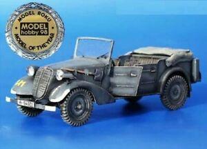 Plus Model 097 Tatra 57K Kubelwagen Complete Kit 1/35 scale resin model kit