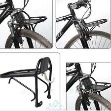 Aluminum Alloy Bike Bicycle Front Rack Luggage Shelf Carrier Panniers Bracket