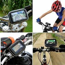 4.3 Inch GPS Sat Nav Motorcycle Motorbike Cycle Waterproof Case w/ Mount Holder