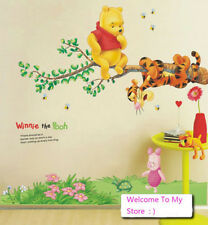DIY Winnie The Pooh Wall Sticker kIDS Baby Room Decor Removable PVC decals
