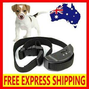 2020 AUTOMATIC ANTI BARK COLLAR STOP BARKING DOG TRAINING COLLAR EXPRESS POST
