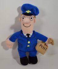 "RARE 2001 Postman Pat 6.5"" McDonald's EUROPE Plush Stuffed Action Figure BBC"