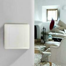 86x86mm Wall Switch Socket Blank Cover Panel Plastic Outlet Plate Bezel Too T6R7