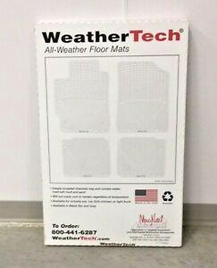 WeatherTech W70GR Gray All Weather Rear Floor Mat Escalade Silverado