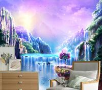 Princess Throne Wall Mural Pink Fairytale Photo Wallpaper  Girls Room Home Decor
