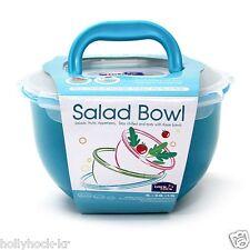 Lock & Lock 6 Piece Set Salad Fruit Bowl Airtight Storage