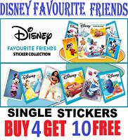 Panini Disney Favourite Friends Single Stickers  Buy 4 get 10 FREE!  FREE Post!