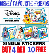 Panini Disney Favourite Friends Single Stickers  Buy 4 get 10 FREE!  FREE Post!