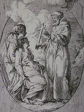 FRANCESCO MAZZONI ´HEILIGENDARSTELLUNG; SAINT; HAGIOGRAPHY´ NACH RENI ?, ~1750
