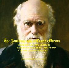 CD - The Letters of Charles Darwin Biography - in PDF Format + 25 Audio Books