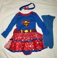 SuperGirl Baby Girl Toddler Costume Halloween Dress-up 18 -24 months Dc Comics