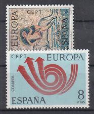 Europa CEPT neuf ** EU ESP 1973 Y&T Espagne Y&T 1779 à 1780
