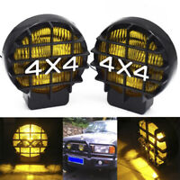 "5.5"" 4X4 Round Off Road Driving Halogen Fog Led Work Light Lamp Spotlight FD P1"