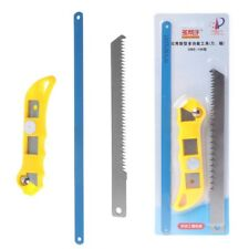 """10"""" 3 In 1 Mini Saw Easy Release Aluminum Saw Hacksaw with Rubber Handle"""