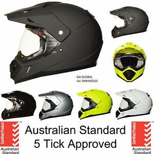 Dual sport helmet dual purpose motorcycle full face helmet motocross Dirt bike