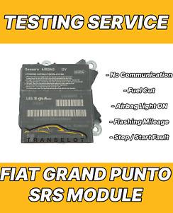 FIAT GRAND PUNTO 51838580 AIRBAG ECU SRS MODULE NO COMMUNICATION TESTING SERVICE