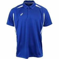 ASICS Resolution Polo   Golf  Tops - Navy - Mens
