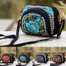 Women Crossbody Bag Floral Cellphone Bag Mini Purse Retro Embroidery Wallet Gift