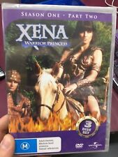 Xena Warrior Princess Season 1 Part 2 NEW/sealed region 4 DVD (3 discs) series