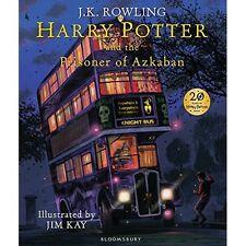 Harry Potter Prisoner of Azkaban Illustrated Edition Book 3 Hardrback Hogwarts