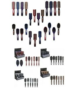 Professional Hairbrushes Assorted Heads&Colors Salon Quality Suit All Hair Types