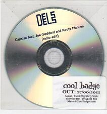 (ET453) Dels, Capsize ft Joe Goddard & Roots Manuva - 2011 DJ CD