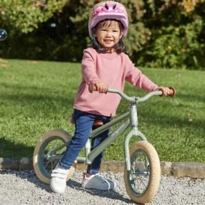 Kids Children Balance Bike Pre Bike Ride-on Toys No Pedal Wheels 20cm For XmasR3