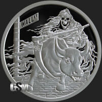 Silver Shield 1oz Proof Rate Reaper 2018 .999 Fine Silver Round COA