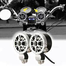 Radio MP3 Handlebar Mount Speakers For Kawasaki VN Vulcan Classic Custom 900