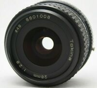 TOKINA 28mm 1:2.8 Lens *As Is* For Pentax K mount #H007f